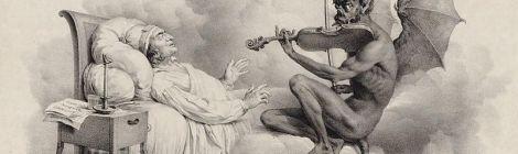 Le Songe de Tartini par Louis Leopold Boily 1824